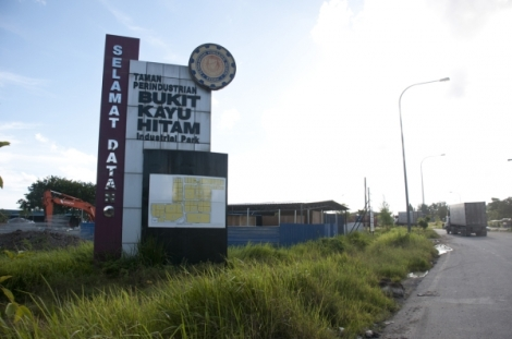 Bukit Kayu Hitam industrial estate is set to expand and to attract more logistics companies and the halal industry. | Picture by K.E. Ooi