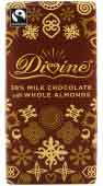 Divine 38% Milk Chocolate with Whole Almonds